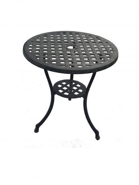 AKS Bristol Bistro Tisch Aluguß 59x65 cm bronze