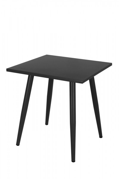 AKS Skagen Tisch 90x90x73 cm schwarz