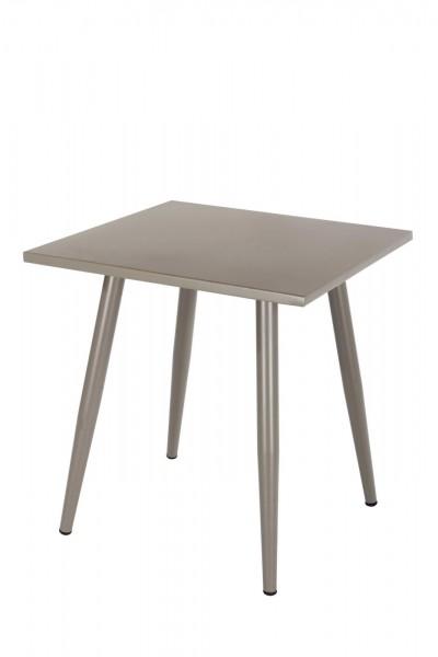 AKS Skagen Tisch 90x90x73 cm taupe