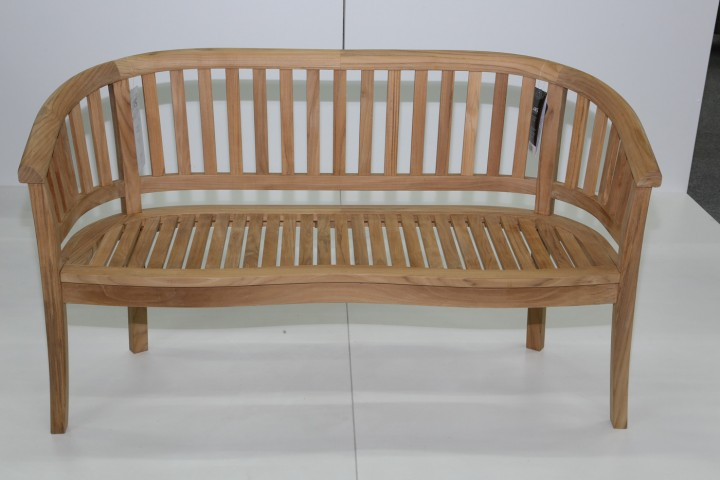 AKS Windsor Bank Teak 150x55x88 cm natur