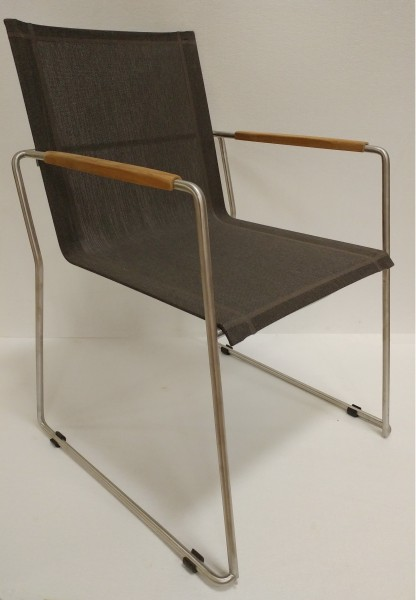 AKS Sterling Sessel 90x60x62 cm taupe