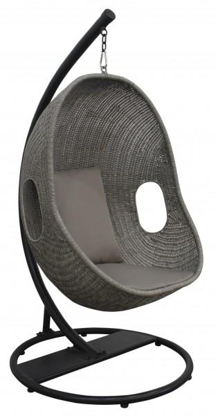 aks savona h ngesessel geflecht grau h ngematten h ngesessel sonstiges aks im garten. Black Bedroom Furniture Sets. Home Design Ideas
