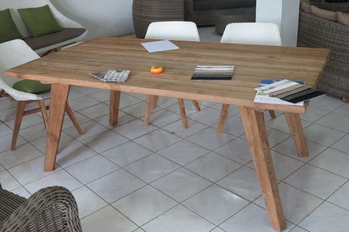AKS Belize Tisch 180x100x75 cm Teak