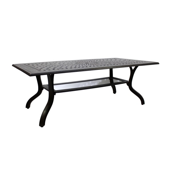 AKS Sheffield Tisch Aluguß 171x95x73 cm bronze