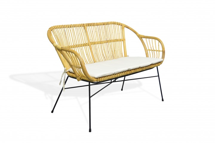 AKS Firenze Bank Rattan, honey