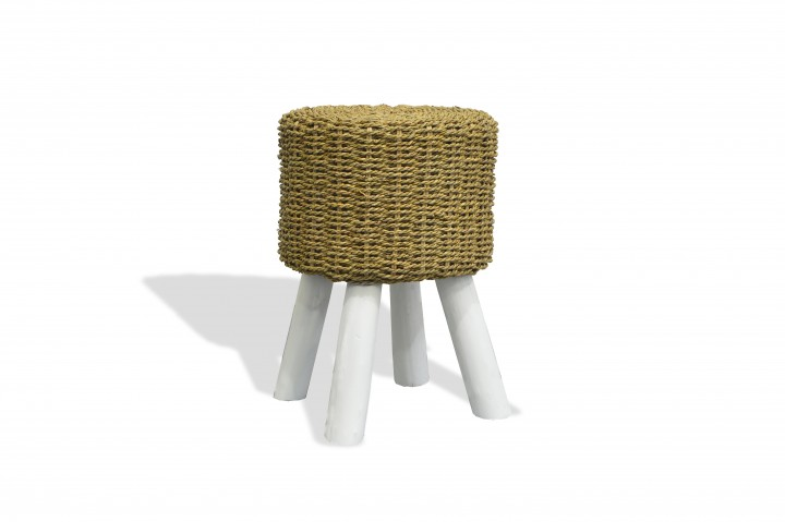 AKS Hocker Rattan, honey