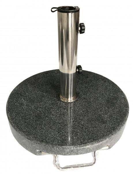 AKS Schirmständer Granit dunkelgrau
