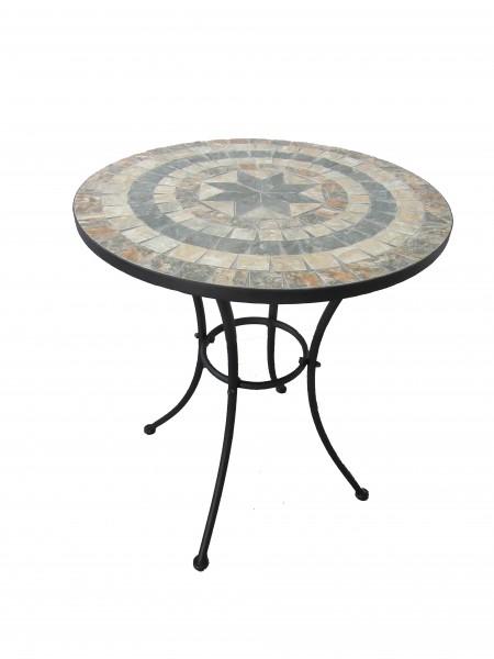 AKS Catania Tisch 60x70 cm Stern schwarz
