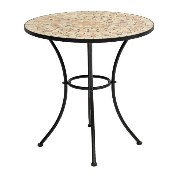 AKS Catania Tisch 70x70 cm Stern braun