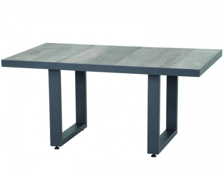 AKS Benedetto Loungetisch, anthrazit mit Keramikplatte