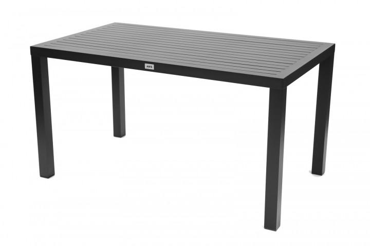 AKS Victoria Diningtisch Aluminium schwarz