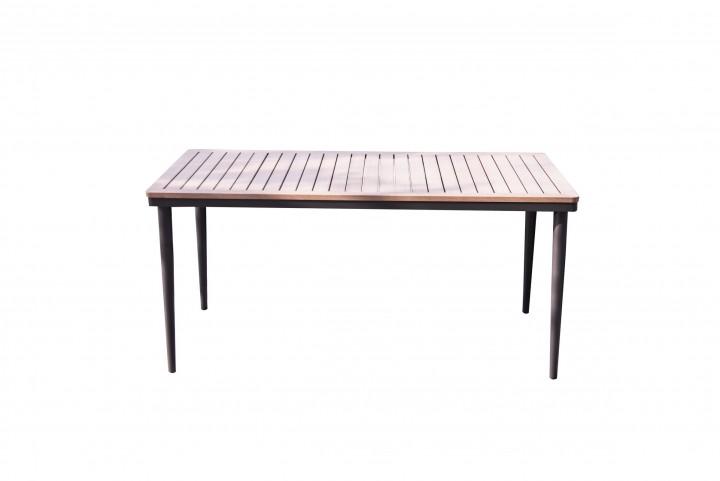 AKS Padua Tisch schwarz, natur