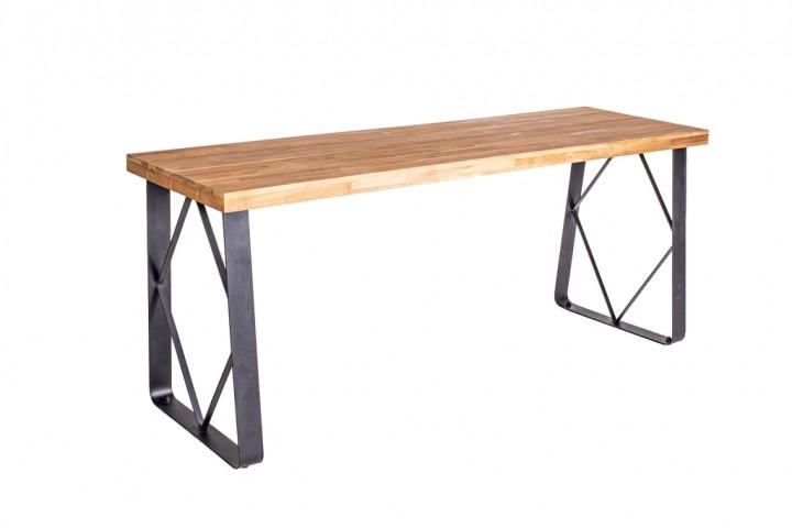 Have&Stol Sten Buffettisch Holz 180x57,5x75 cm Akazie/natur-schwarz