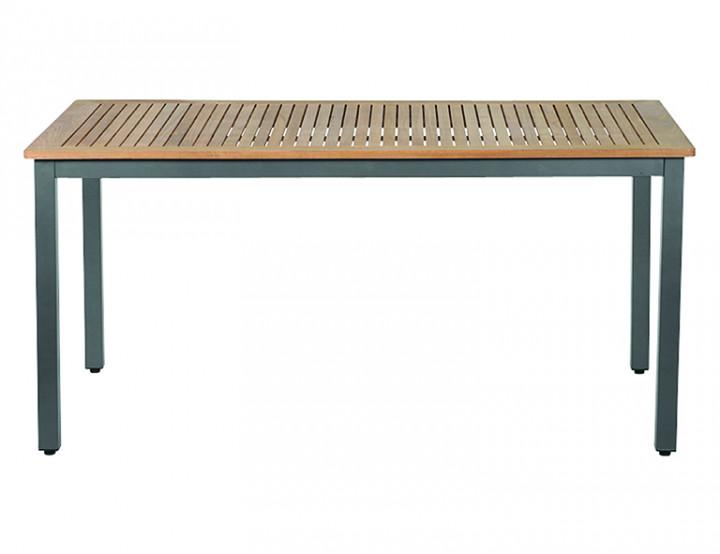 AKS Cordoba Diningtisch Aluminium matt graphit