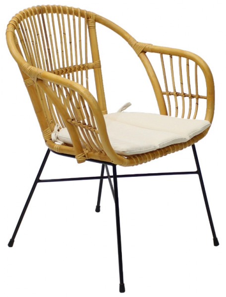 AKS Firenze Diningsessel Polyrattan/Kunstoffgeflecht honey